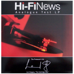 CARTRIDGE MAN HI-FI NEWS płyta testowa LP