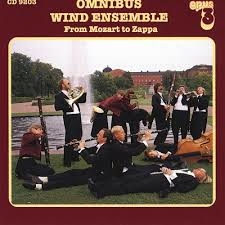 OPUS3 CD9203 – Omnibus Wind Ensemble – From Mozart To Zappa